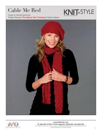 KS_Online Patterns - Knit 'N Style Magazine