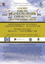 Concerto dell'Orchestra Giovanile di Darmstadt - Riviera dei Limoni