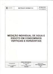 Medição Individual de Água e Esgoto em Condomínios ... - Sinduscon