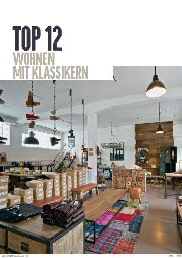 wohnen Mit klassikern - Walter Vintage Möbel & Accessoires Zürich