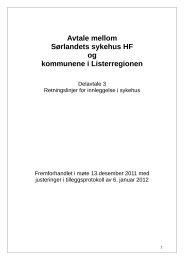 Delavtale+3+innleggelse+Listerregionen.doc - Lund kommune