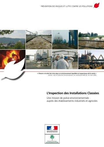 L'Inspection des Installations Classées - DREAL Basse-Normandie