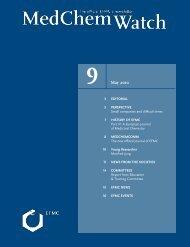 Download MedChemWatch in PDF format (2 MB) - EFMC
