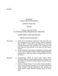 Rincian Tugas Unit Kerja di Lingkungan Lembaga Penjaminan Mutu ...