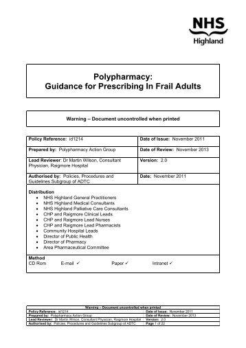 a report on polypharmacy in the elderly Er hajjar et al the american journal of geriatric pharmacotherapy polypharmacy in elderly patients emily r hajjar, pharmd, bcps, cgpi angela c.