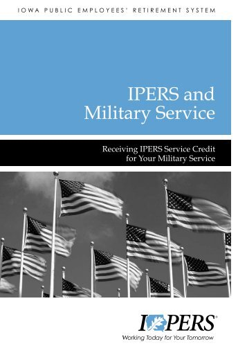 View PDF Version of this brochure - IPERS