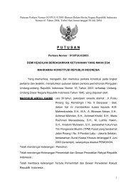 013/PUU-I/2003 - Fakultas Hukum Universitas Sam Ratulangi