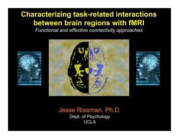 Rissman_connectivity_NITP_2011 (final).pptx - Brainmapping.ORG