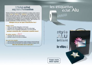ALU ALU - Impressions Services