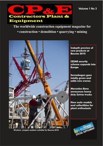 The worldwide construction equipment ... - Contractors World