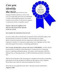 Invite 2001 - New England Convenience Store Association