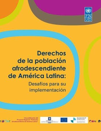 Derechos de la población afrodescendiente de América Latina: