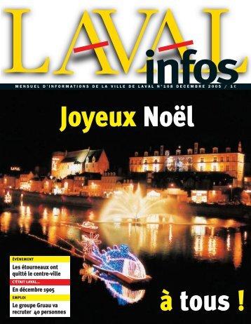 Les étourneaux ont quitté le centre-ville En décembre 1905 ... - Laval