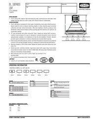 EL SERIES LM - Hubbell Industrial Lighting