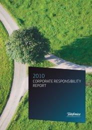 CR Report 2010 - Atlas de Telefónica - Telefonica