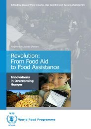 Revolution: From Food Aid to Food Assistance - WFP Remote ...