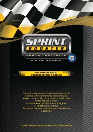 Brochure Applicativi A4 - SprintBooster