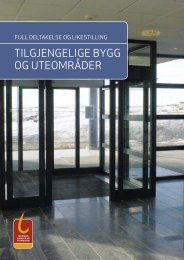 Tilgjengelige bygg og uteområder - Drammen kommune