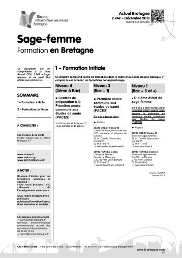 Formation sage femme poitiers