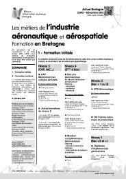 Les métiers de l'industrie aéronautique et ... - CRIJ Bretagne