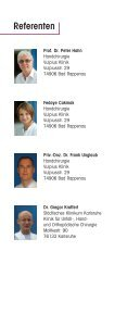 Programm als PDF - Endoscopy Workshops - Seite 6