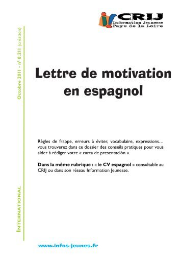 comment reussir sa lettre de motivation