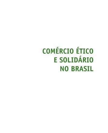 Caderno Comércio Ético e Solidário no Brasil - CDCC - USP