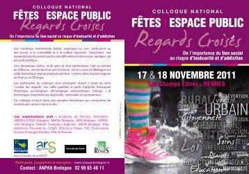 Programme du colloque - CRIJ Bretagne