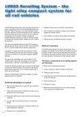 LUKAS Rerailing System - Hasmak.com.tr - Page 2