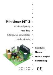 Minitimer MT-3 - Tams