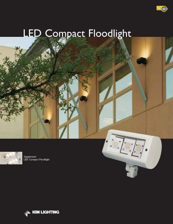 LED Compact Floodlight - Kim Lighting