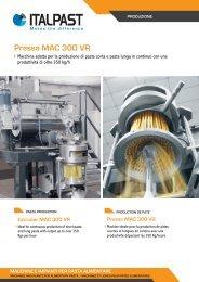 Pressa MAC 300 VR - Italpast
