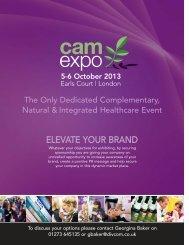 Sponsorship Opportunities - camexpo