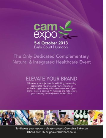 Sponsorship Opportunities - camexpo