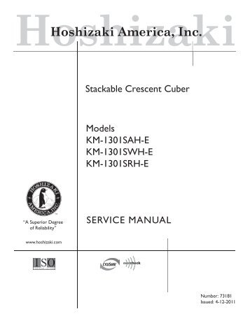 hoshizaki owners manual km280mwf best setting instruction guide u2022 rh ourk9 co