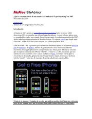 Typo-Squatting - Mcafee Siteadvisor