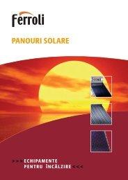 Panouri solare Ferroli - ProIdea