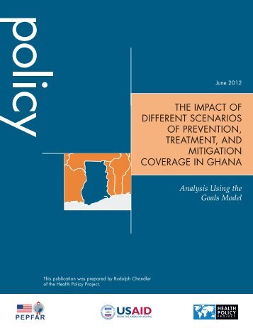 the impact of different scenarios of prevention, treatment, and ...
