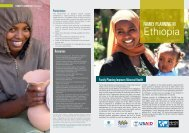 Family Planning in Ethiopia - Health Policy Project