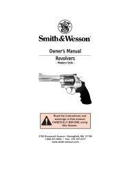 Safety Manual - Revolver - Quarterbore