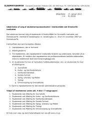 Ulloq/Dato: 17. januar 2013 J.nr. 01.30.02 - Ilisimatusarfik