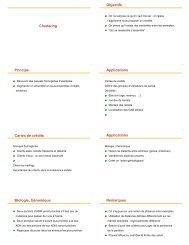 Le clustering (K-Moyennes) - FIL