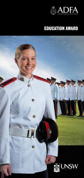 ADFA Education Award - Australian Defence Force Recruiting