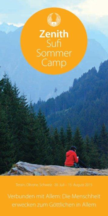 Sufi Sommercamp im Tessin Programm 2015