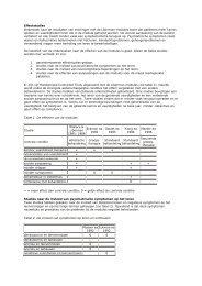 Effectstudies Onderzoek naar de resultaten van ... - RINO Groep