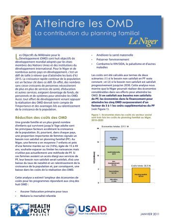 Le Niger - Health Policy Project