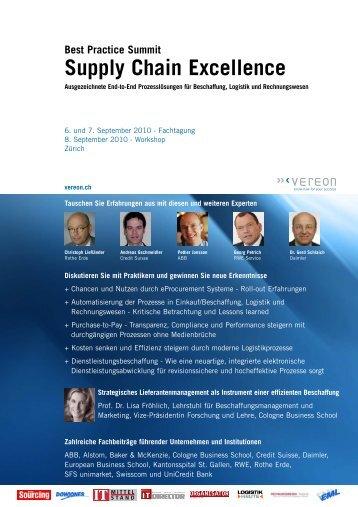 Supply Chain Excellence - Rechnungswesen-Portal.de