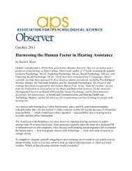Harnessing the Human Factor in Hearing Assistance - Hearing Loop