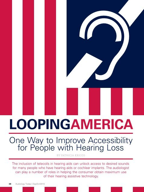 Audiology Today - Hearing Loop