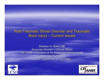 Post-Traumatic Stress Disorder and Traumatic Brain ... - Idahotbi.org